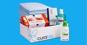 Pflegehilfsmittel gratis von curablu